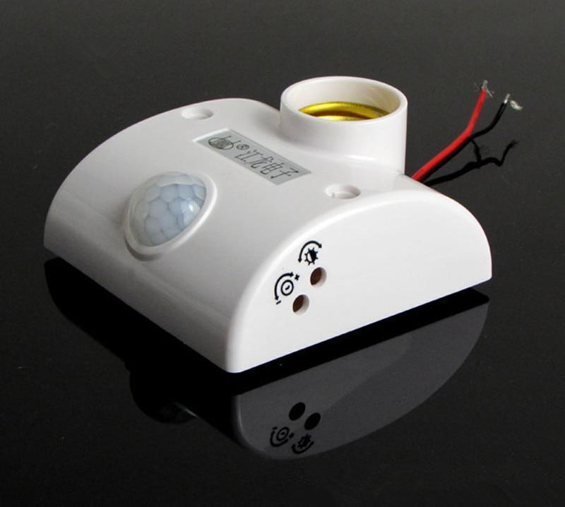 Lidská infračervená senzorová lampa základní lampa držák lidského těla indukční spínač 220v nastavitelné časové zpoždění