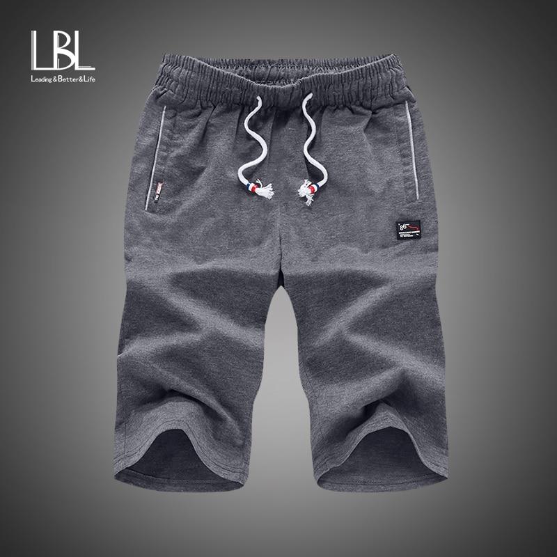 2018 Summer Shorts Mens Leisure Trunks Comfortable Homewear Fitness Workout Shorts Man Casual Shorts 100% Cotton Short Pants