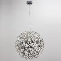 Ecolight 스테인레스 스틸 LED 펜던트 조명 램프 불꽃 공 모양 거실 로프트 조명 상점 조명 110-240 볼트 낮은 전압