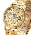 Phoenix dragão mecânico Relógio para homens mulheres Oco esqueleto marca de luxo militar relojes relógio de pulso casual relógio Da Novidade 2016