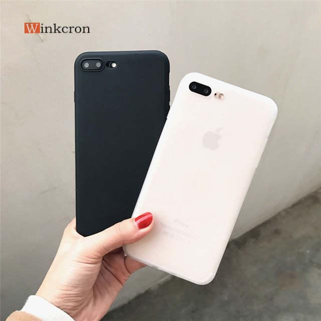 online shop simple plain phone case for iphone x 6 6s 7 plus 8 cool