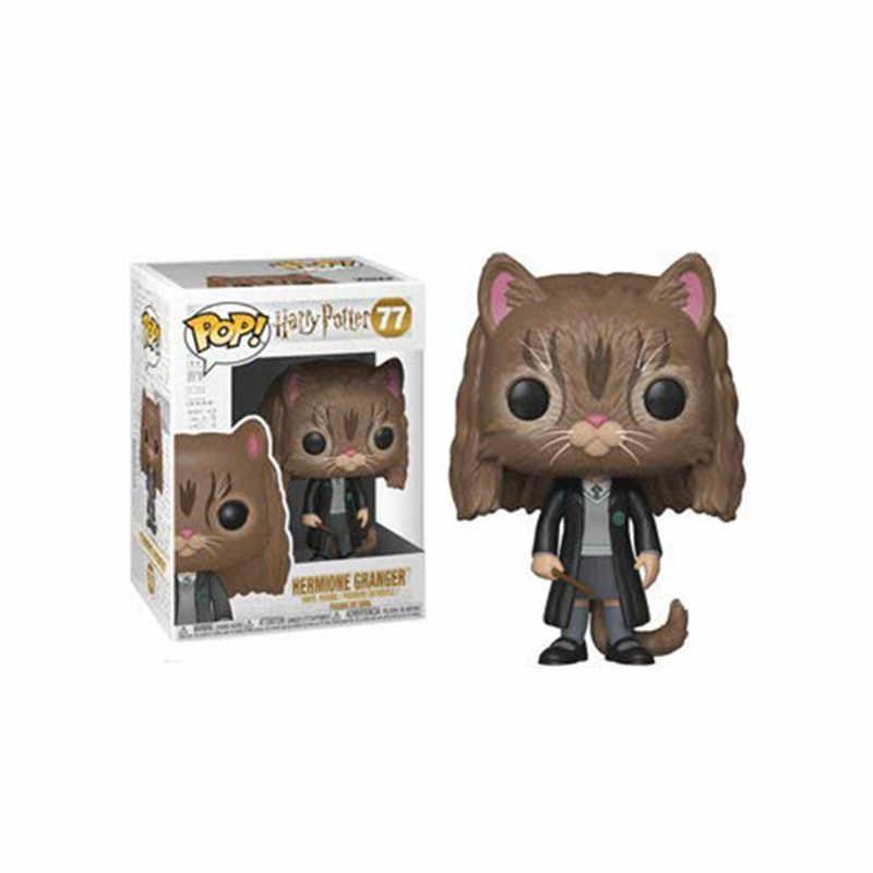 FUNKO POP горячий фильм Харри Поттер Персонажи Sirius черный Hedwig Винил Рисунок с куклой Коллекция Модель игрушки Гермиона Рон Добби подарок