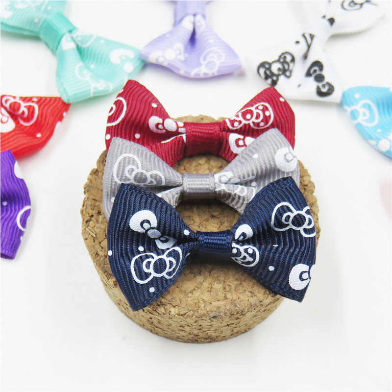 2PCS/LOT Lovely Candy Sugar Small Bow Hairpin For Girl Hair Tie Child Elastic Hair Bands Scrunchy Clips Hair Accessories For Kid
