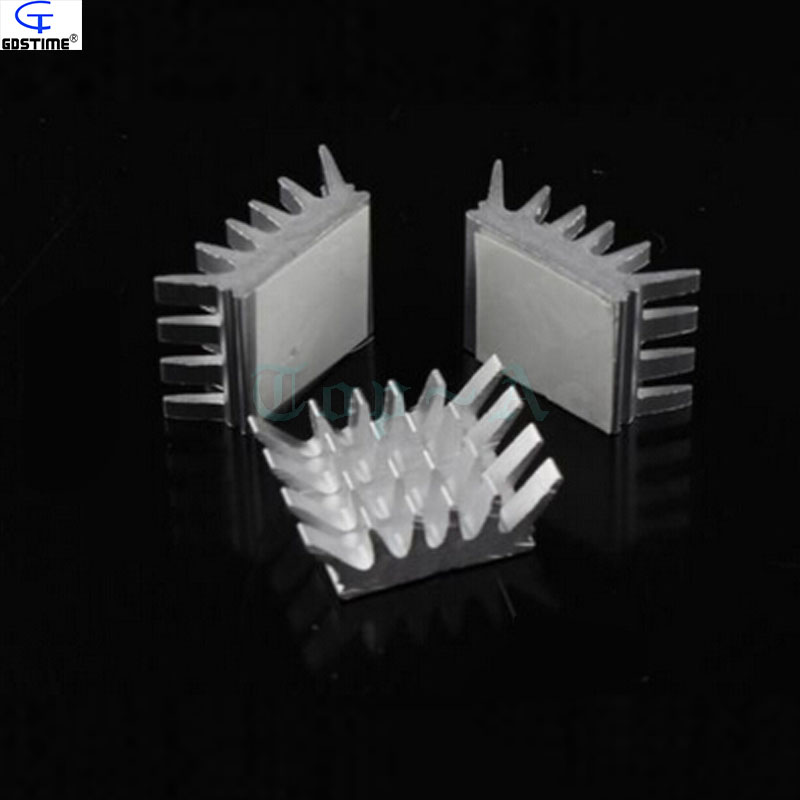 8 pcs/lot Gdstime GDT- X8 Silver Aluminum Heatsink PC VGA Card Xbox360 PS DDR RAM Memory Heat Sink Cooling Cooler Free Shipping gdstime 2pcs high quality ddr ddr2 ddr3 ram memory heatsink aluminum cooler heat spreader heat sink golden
