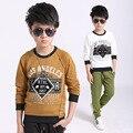 Meninos t shirt crianças camisa do menino roupas infantis menino criança t-shirt completo do bebê Meninos Roupas de Mangas Compridas roupas 2017 Crianças