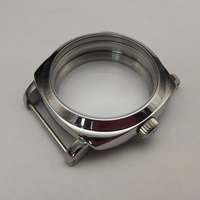 47mm Parnis 316l stainless steel watch case eta 6497 6498 movement P47 7