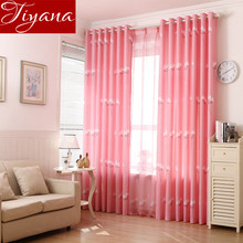 Rural Curtains Dandelion Window Screen Yarn Curtains Voile Panel Sheer Living Room Curtains Cloth Tulle Custom Made T&141 #20
