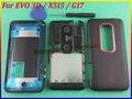 Красный-Черный Оригинальные Замена Передняя Ближний Задняя Крышка Полный Дело Корпус Дверь для HTC EVO 3D/X515/G17