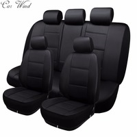 Car Wind PU Leather Car Seat Covers Automotive Seat Covers Universal For Toyota Lada Priora Renault