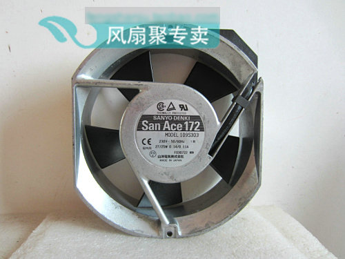 все цены на Original SANYO 109S303 17cm 17251 230V drive aluminum frame cooling fan онлайн