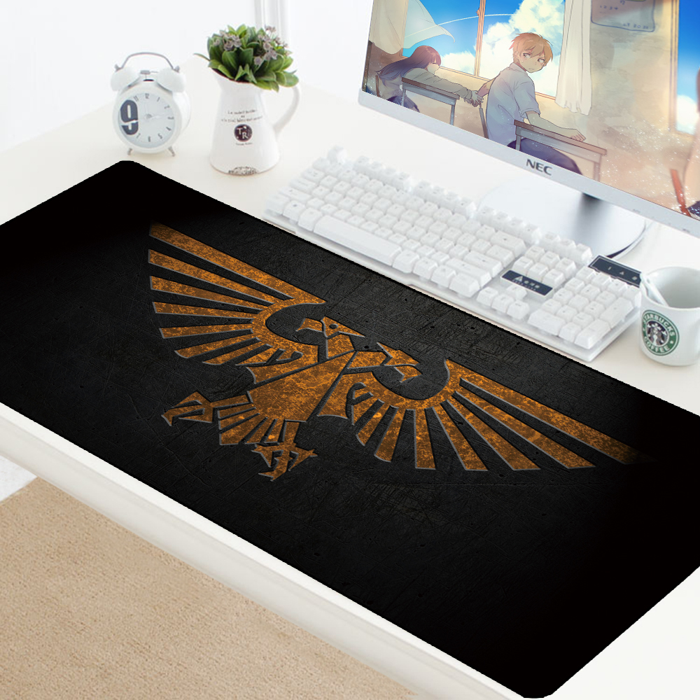 Warhammer40k Mouse Pad Notbook Mat XL Large Rubber Keyboard Gaming Mousepad Customized PC Desk Computer Padmouse