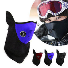 Drop shopping Perfect Protection Adjustable Motorcycle Skiing Bike Snowboard Winter Sport Hiking Half Face Neck Mask Warmer