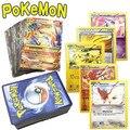 Покемон карты для детей Английский Аниме Карты БЫВШИЙ Торговый Коллекция Игры Рисунках Карт Покемон игрушки