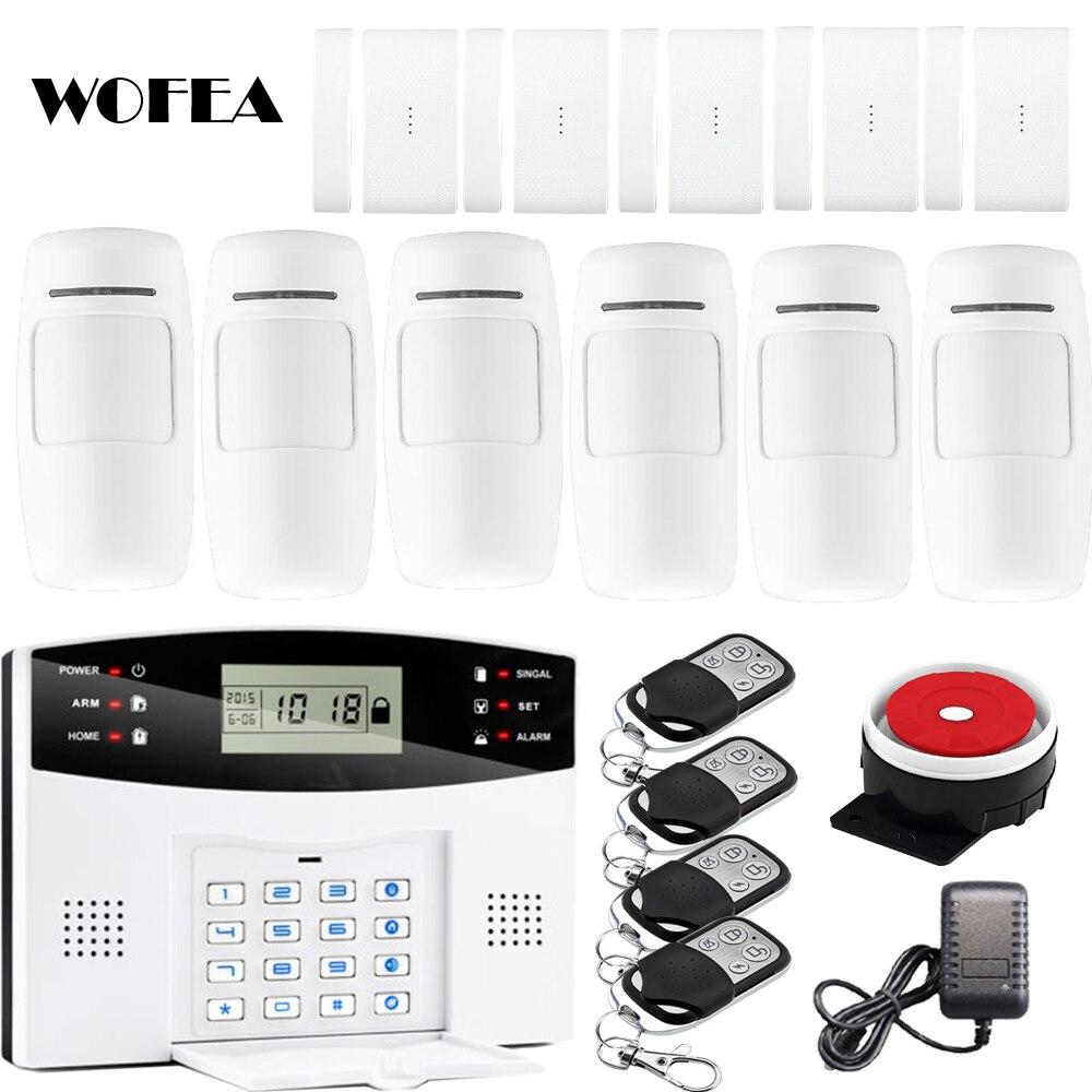 bilder für LCD Wireless GSM Alarm Tastatur Alarmanlage Mit Pir Bewegungssensoren