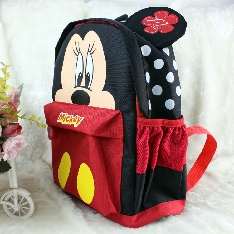 2baaa3ced42 Hot Cartoon Lovely Cute Mickey Minnie Backpack Children School Bags Baby  Early Learning Book Bag Kids
