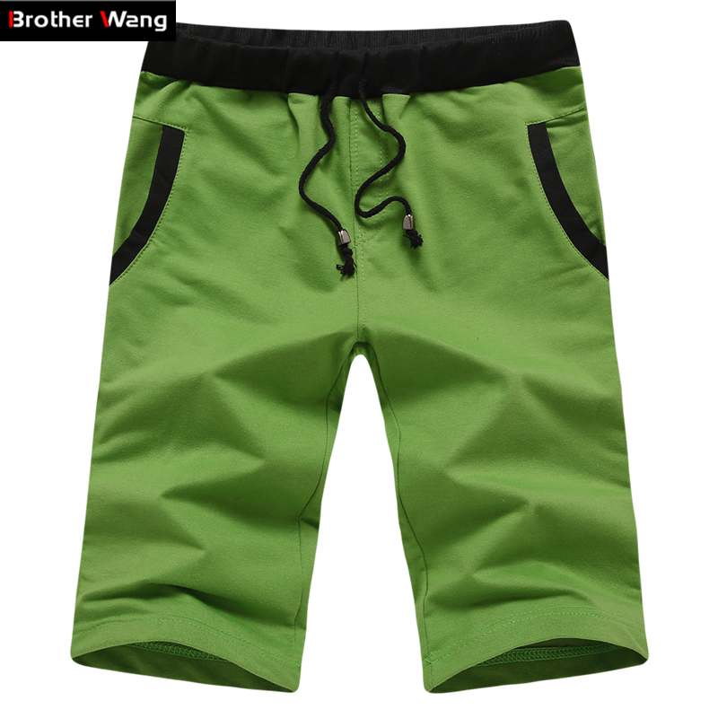 New men s casual fashion solid color shorts summer beach shorts for men code M 4XL
