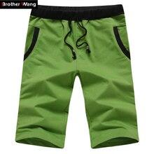Новые мужские повседневная мода сплошной цвет шорты летние пляжные шорты для мужчин код М-4XL Фитнес Пляжные шорты