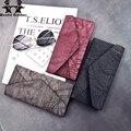 Wenjie imagen hermano nueva moda Europea y Americana del todo-fósforo cartera ladys costura embrague Larga Cartera monedero de las mujeres
