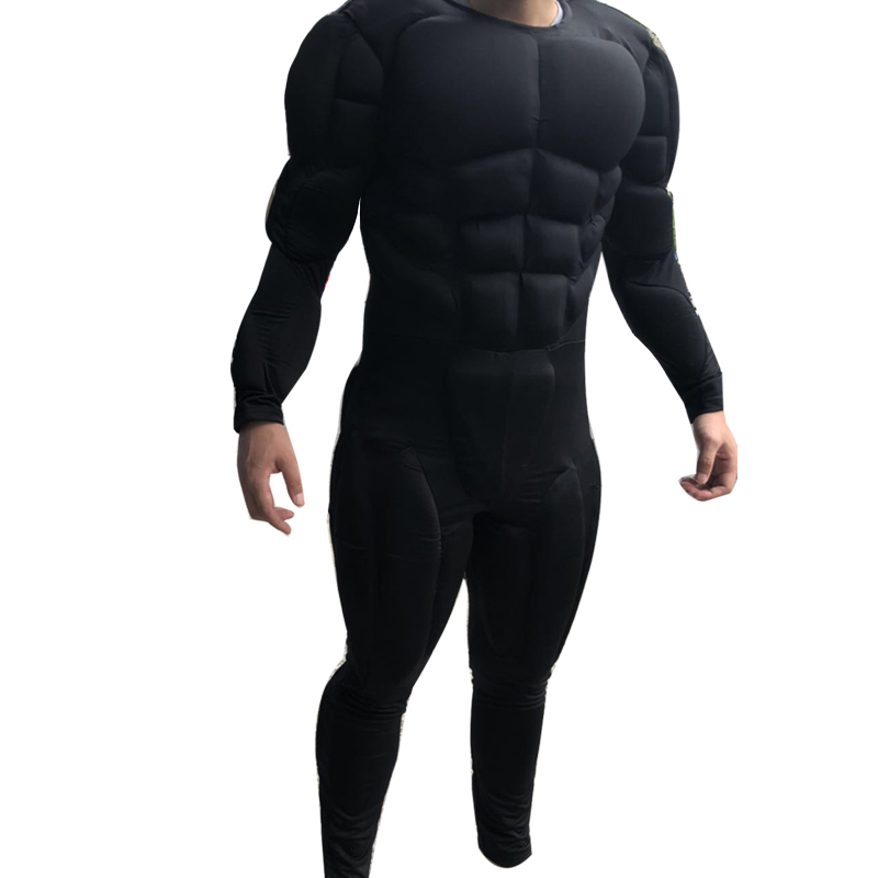 Ben Affleck Batman Muscle Suit Inside Wearing For Batfleck Cosplay Dawn Of Justice And Justice League Muscle Suit