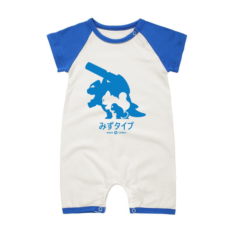 Fashion Infant Anime Cartoon Baby Clothes Boys Girls Costume Romper Short Sleeve Newborn Babies Summer Style Cotton One-pieces
