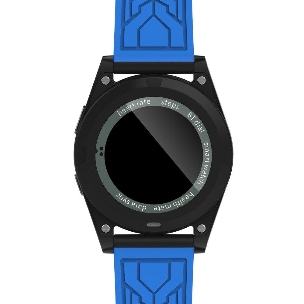 Новые № 1 G6 Модные Спортивные Bluetooth Smart часы Женщина Мужчина Бег SmartWatch С сердечного ритма Мониторы для Android iso телефон