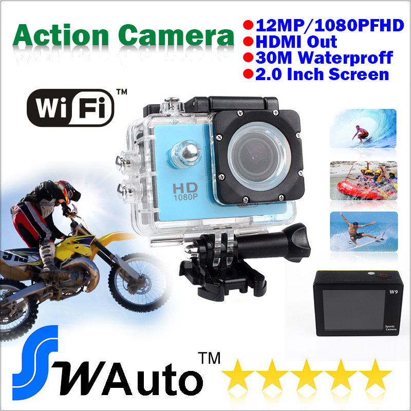 Car DVR Camera Wifi-Recorder Diving 6000-Style 1080P Full-Hd LCD Sj 30FPS Waterproof