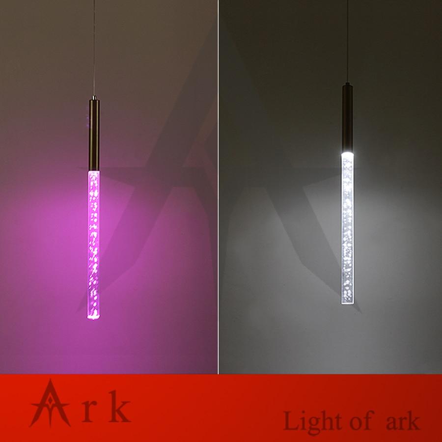 Dia 3cm-es alumínium kanül alakú 3W-os lámpa egyedi tervezésű - Beltéri világítás