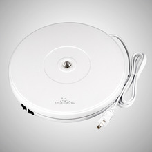 цены на Load 11kg 25 cm White Electric Motorized Rotating Display Turntable for Model Jewelry display stand or 4k Photography Ad display  в интернет-магазинах