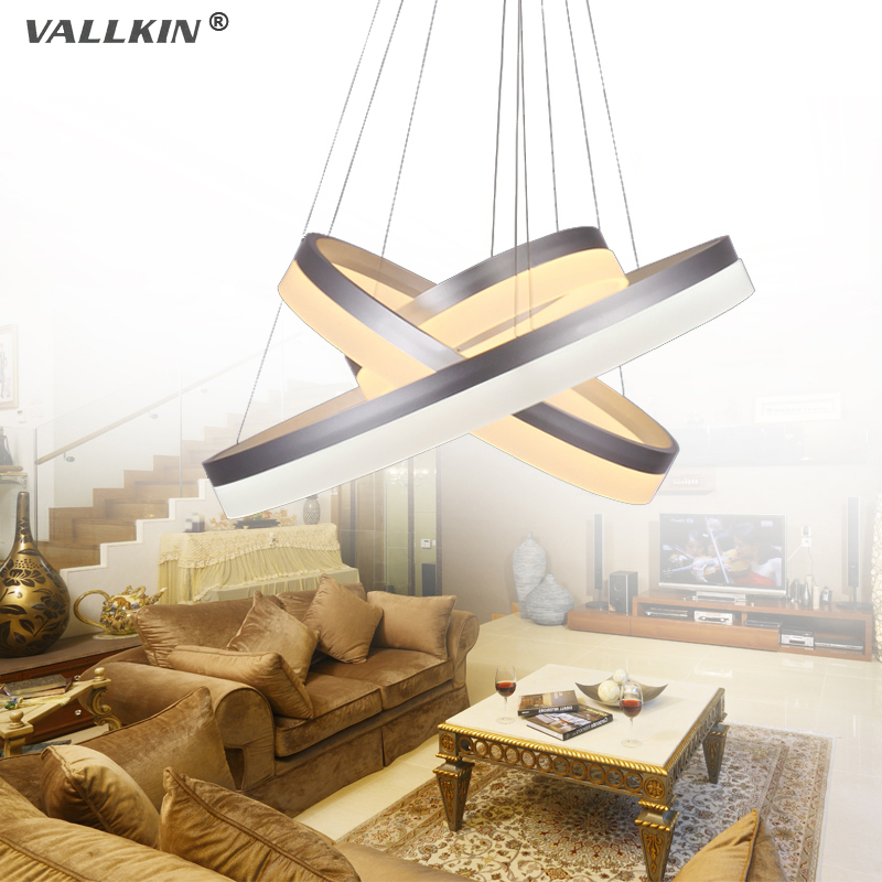 VALLKIN Modern LED Pendant Lights for Dining Room Living Room Ceiling Lamp Fixtures with Ac100 to 240V CE FCC VALLKIN LIGHTING a1 master bedroom living room lamp crystal pendant lights dining room lamp european style dual use fashion pendant lamps