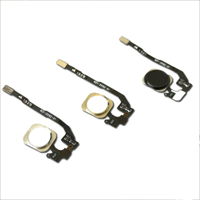 AIBOULLY For iPhone 5S Home Button Assembly Flex Cable and the machine tool  for iPhone 5s home button