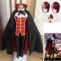 Anime My Hero Academia Todoroki Shoto Halloween Boku no Hero Academia Cosplay Costume