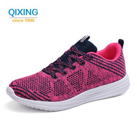 Summer Women S Sneakers Cushioning Breathable Sport Shoes Female 10km Jogging Trainers Low Top Lace Up