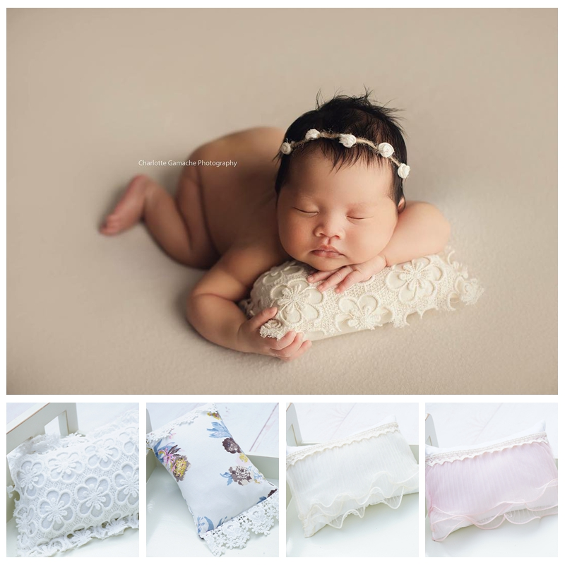 20 Colors Posing Beanbag For Newborn Photography Props Flokati Basket Accessories Baby Photo Shoot For Studio