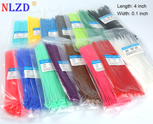 0.2 m Self locking Nylon Cable Ties 8 inch 1012 color Plastic Zip Tie 20 lbs TS Colorful gorgeous wire binding wrap straps