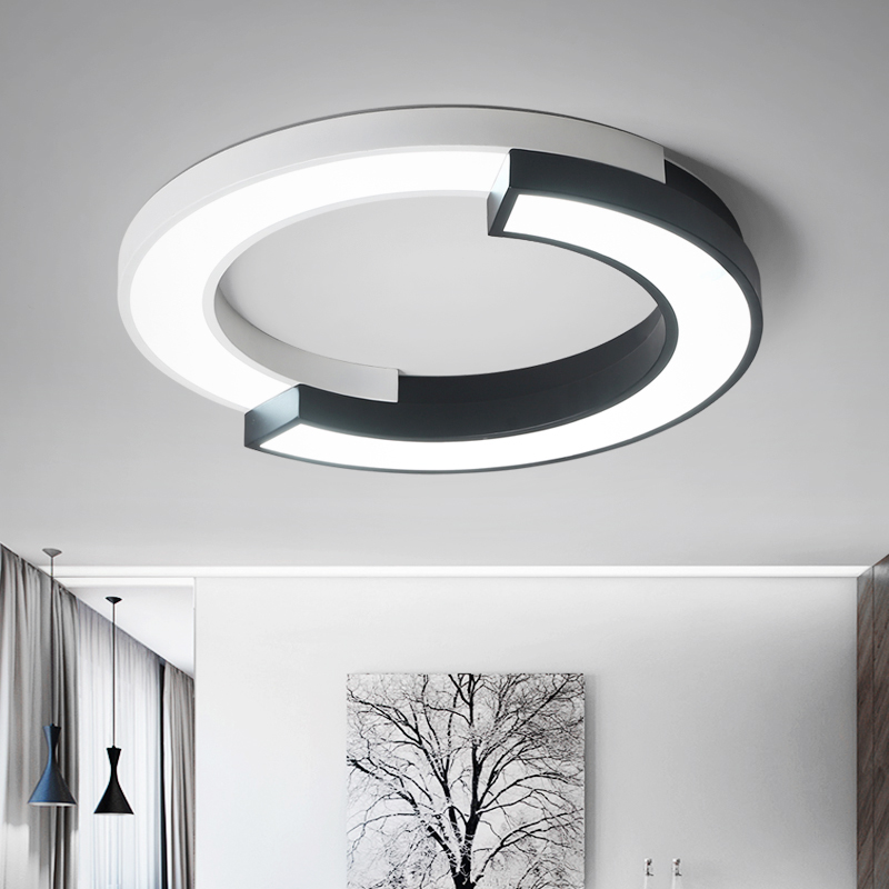 Modern Led ceiling lights for Living Room Bedroom Dimmable with remote Simple Led Lamps Home Decoration Kitchen AC110V-220V