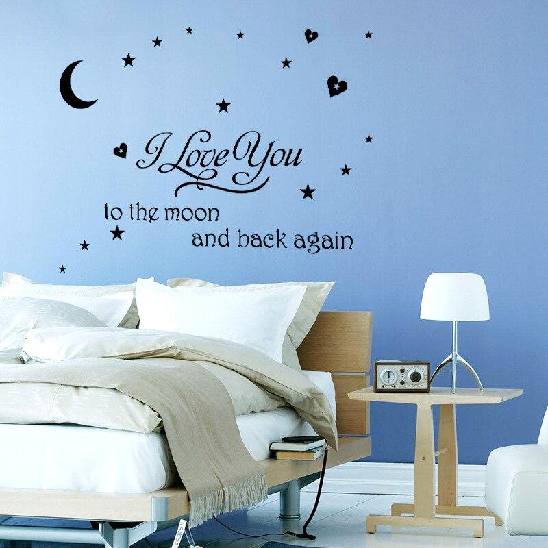 Wunderbar Ich Liebe Dich Zum Mond Und Zurück Kunst Umrahmt Ideen ...