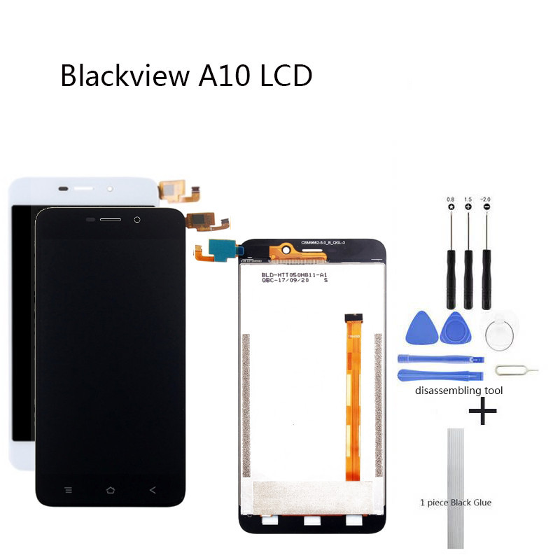 Display Screen Replace for Blackview A10 LCD Touch Screen 5 0 inch black white for Blackview