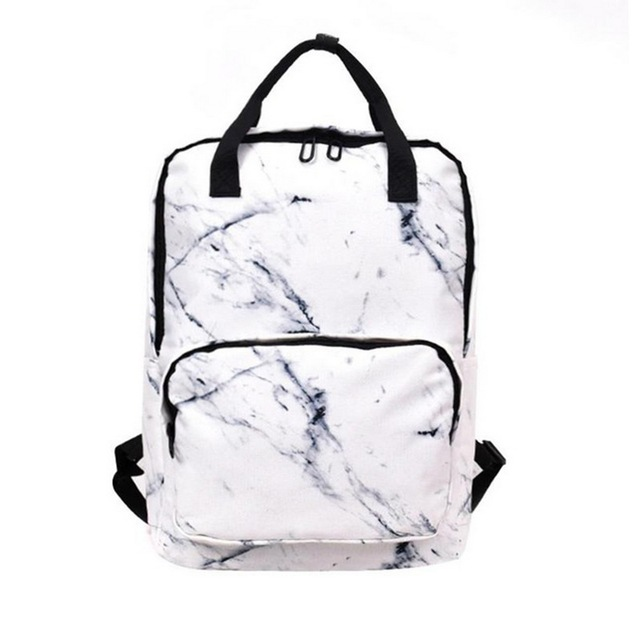 67d12001d5 2018 Marble Pattern Backpack Women Small Backpack Oxford school Bags for  Teenage Girls Travel Shoulder Bag mochilas mujer New-in Backpacks from  Luggage ...