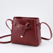 New PU Material Messenger Bag Fashion Trend Wild Lady Single Shoulder Womens Belt Decoration Small Square Women 2019
