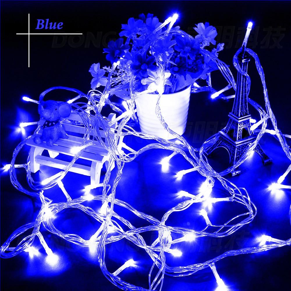 Free Shipping 20M 200led LED String Lights christmas wedding Birthday Party led Light 110V AC with US Plug