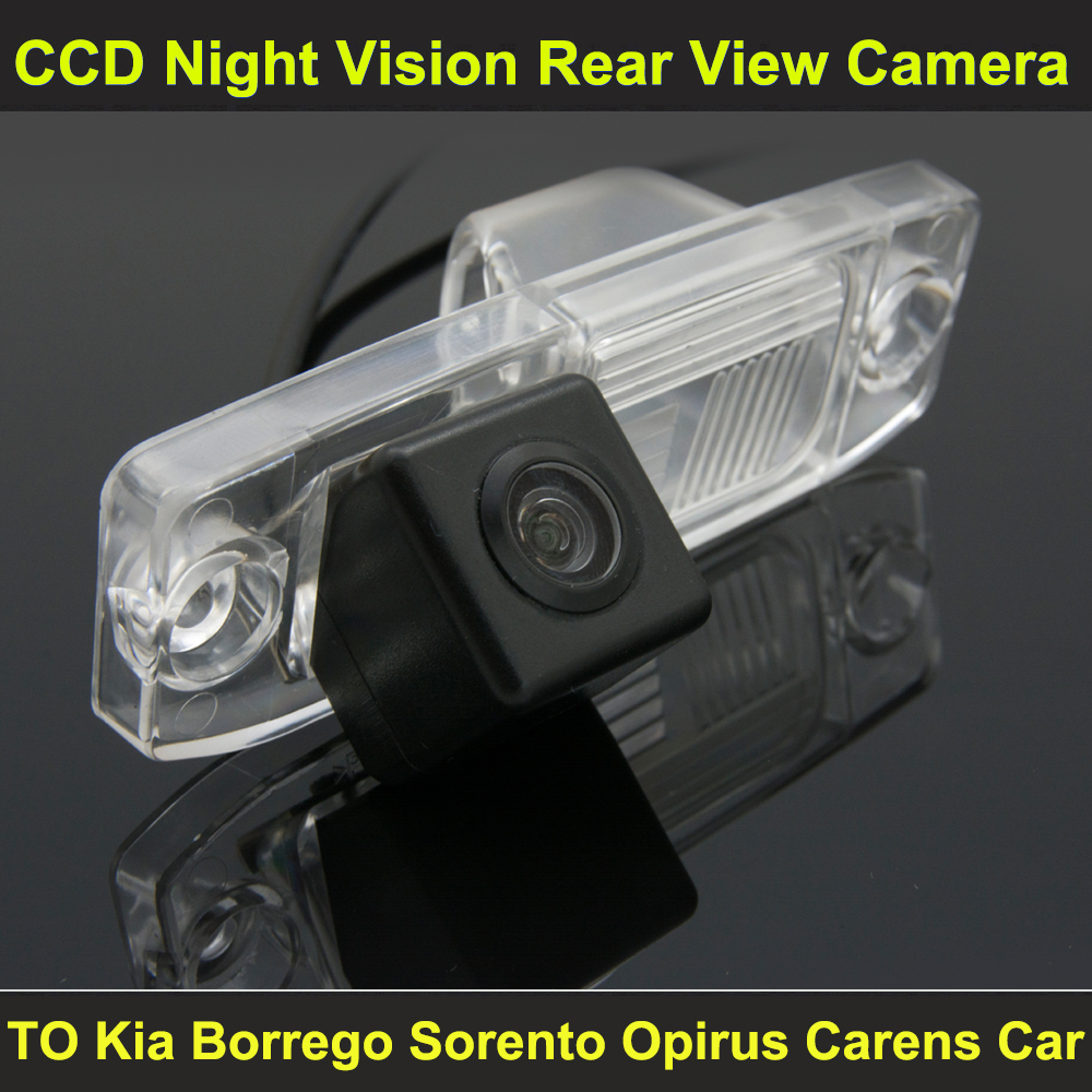 Ccd night vision car rear view reverse camera for kia borrego 2009 2011 sorento 2004