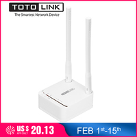 TOTOLINK A3 1200Mbps Dual Band Mini Size WiFi Router Wireless Bridge For Home Network,Wi Fi Repeater Support VPN/Multi SSID
