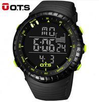 OTS Luxury Brand Military Digital Watch Men Sports Watches 50M Waterproof Swimming Outdoor Climbing Wristwatch Relogio