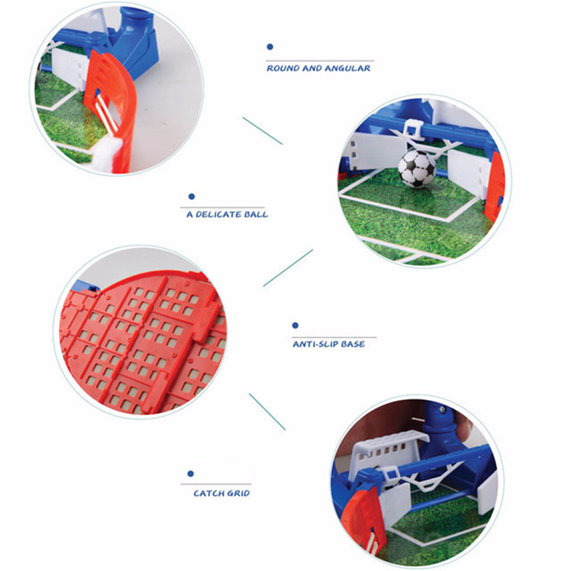 Mini Football Board Match Game Kit Tabletop Soccer Toys For Kids Educational Sport Outdoor Portable Table Games Play Ball Toys 3