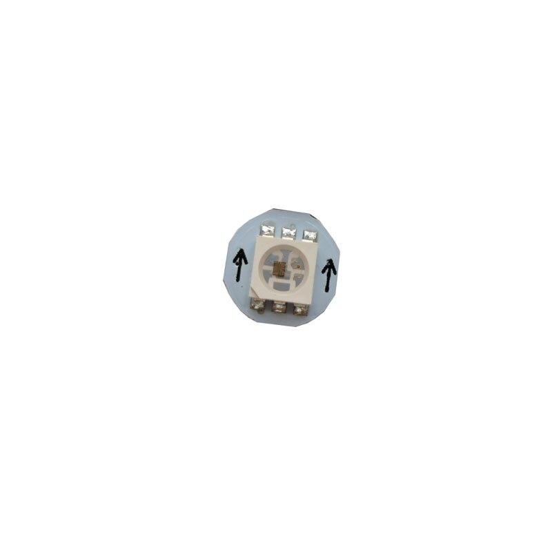 100~1000X Addressable dual signal WS2813 5050SMD RGB LED chip with 10mm heatsink free shipping