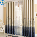 ( Single Panel ) Punching Window Curtains Mediterranean Bedroom Balcony Castle City European Style Blackout Custom Curtains