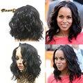 8A Glueless Silk Top Full Lace Wigs For Black Women Water Wave Silk Base Wigs Brazilian Human Hair Silk Top Full Lace Front Wigs