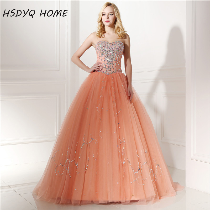 HSDYQ HOME Real Photo Beading Backless Prom   evening     dresses   Sleeveless Party gown