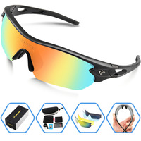 New Sports Polarized Sunglasses Brand Designer Men Women Sports Glasses for Climbing Driving Running Fishing Golf UV400 Lens