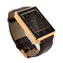 NO. 1 D6 Smartwatch Telefon 1,63 zoll 3 GAndroid 5,1 MTK6580 Quad Core 1,3 GHz 1 GB RAM GPS WiFi Bluetooth 4,0 Herzfrequenz überwachung